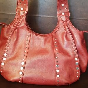 Array Authentic Leather Purse 16x12 inch